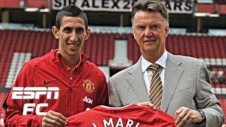 Angel Di Maria's potential at Man United may have been thwarted by Van Gaal's tactics | ESPN FC