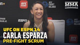 UFC on ESPN 14: Carla Esparza Down To Fight Amanda Ribas Next - MMA Fighting