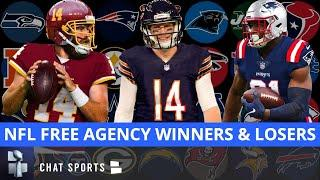 NFL Free Agency Winners & Losers Featuring The Bears, Jaguars, Patriots, Eagles + Washington