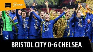 Bristol City Women 0-6 Chelsea Women   Kerr and Kirby Shine To Retain The Conti Cup