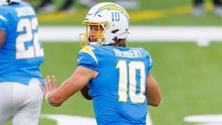 Justin Herbert Rookie of the Month October 2020 Highlights | LA Chargers