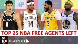 NBA Free Agency 2020: UPDATED Top 25 NBA Free Agents That Are Still Available Led By Anthony Davis
