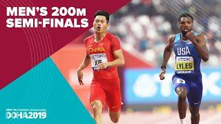 Men's 200m Semi-Finals | World Athletics Championships Doha 2019