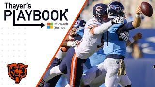 Role players step up on D-line | Thayer's Playbook | Chicago Bears