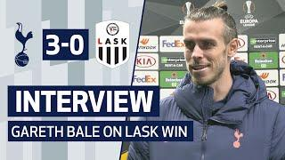 INTERVIEW | Gareth Bale On LASK Victory
