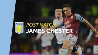 POST MATCH   James Chester pleased to return to First Team action