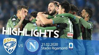 Highlights Serie A - Brescia vs Napoli 1-2