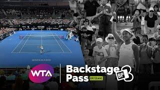 Backstage Pass: Behind the scenes of the 2020 Brisbane International