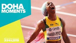 Shelly-Ann Fraser-Pryce | The Athlete Journey | World Athletics Championships 2019 | Doha Moments