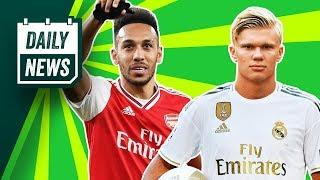 Erling Haaland could join Real Madrid THIS SUMMER!  Daily News