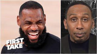 Stephen A.: 'The Lakers have a chance to 3-peat' unless James Harden joins the Nets | First Take