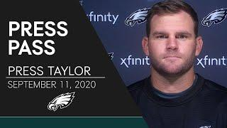 Press Taylor Evaluates the Eagles Offense Heading into Week 1   Eagles Press Pass