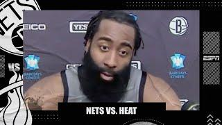 James Harden is enjoying the process of building championship-level chemistry with the Nets