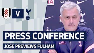Mourinho gives update on Gio Lo Celso & Gareth Bale | PRESS CONFERENCE | JOSE MOURINHO ON FULHAM