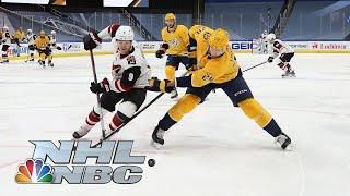 NHL Stanley Cup Qualifying Round: Coyotes vs. Predators | Game 2 EXTENDED HIGHLIGHTS | NBC Sports