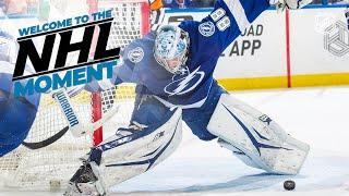 Andrei Vasilevskiy reveals his 'Welcome to the NHL' Moment
