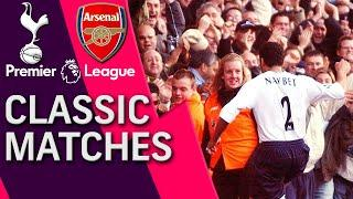 Tottenham v. Arsenal | PREMIER LEAGUE CLASSIC MATCH | 11/13/04 | NBC Sports