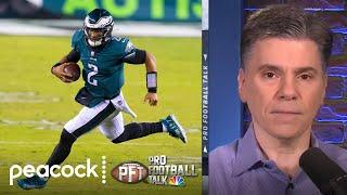 Eagles should give Jalen Hurts chance to be franchise QB | Pro Football Talk | NBC Sports