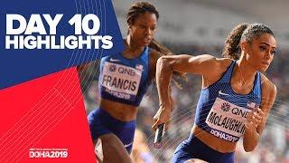 Highlights | World Athletics Championships Doha 2019 | Day 10