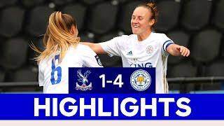 A Huge Win For The Unbeaten Foxes | Crystal Palace Women 1 LCFC Women 1 | 2020/21