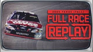2005 Dickies 500 from Texas Motor Speedway | NASCAR Classic Full Race Replay