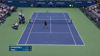 Rafael Nadal and Diego Schwartzman's Amazing Rally | US Open 2019 Hot Shots