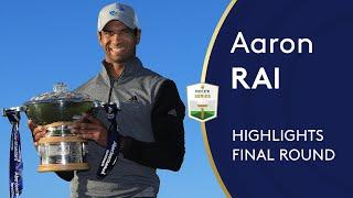 Aaron Rai's Final Round 64 Highlights | Round 4 | 2020 Aberdeen Standard Investments Scottish Open