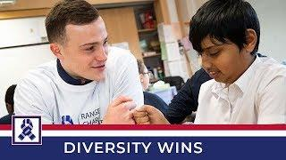 CHARITY | Show Racism The Red Card | Diversity Wins