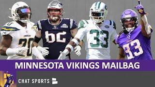 Vikings Rumors: Dalvin Cook Trade?Jamal Adams Trade? Breakout Players? Desmond King Trade? | Mailbag