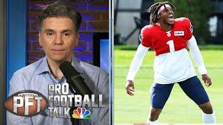 How Cam Newton easily won Patriots QB battle | Pro Football Talk | NBC Sports