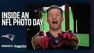Behind the Scenes of an NFL Photo Day  | New England Patriots