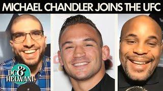 DC & Helwani react to Michael Chandler joining the UFC | ESPN MMA
