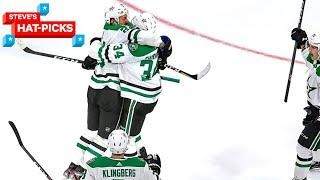 NHL Plays Of The Week: Dallas Punches Their Ticket!   Steve's Hat-Picks