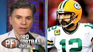 Packers sending message to Aaron Rodgers with 2020 NFL Draft picks | Pro Football Talk | NBC Sports