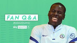 Is Timo Werner the FASTEST player at Chelsea? | Fan Q&A with Kurt Zouma