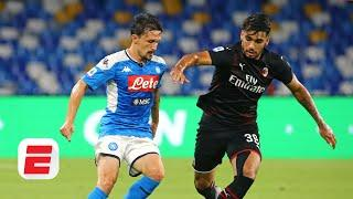 Napoli vs. AC Milan analysis: Which club is in a better position going forward? | ESPN FC