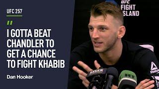 Dan Hooker talks potential fight with Khabib, Chandler fight and predicts McGregor-Poirier