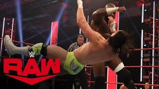 Kevin Owens & Apollo Crews vs. Andrade & Angel Garza: Raw, May 18, 2020