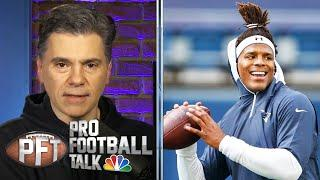 Cam Newton asymptomatic, could play for Patriots in Week 5 | Pro Football Talk | NBC Sports