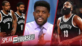 Harden, KD & Kyrie are too problematic together for Nets' success — Acho | NBA | SPEAK FOR YOURSELF