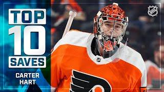 Top 10 Carter Hart Saves from 2019-20 | NHL