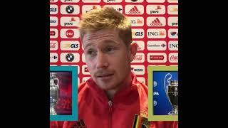 This aged well! ️ Kevin De Bruyne's REACTION to being asked Euro 2020 or UCL | #Shorts | ESPN FC