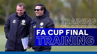 Leicester City Prepare For Wembley Showpiece | Emirates FA Cup Final | 2020/21