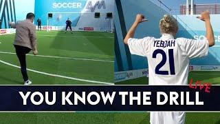 Bullard and Keane recreate Tony Yeboah's classic volley! | You Know the Drill LIVE!