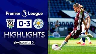 Two pens for Vardy & Castagne scores on debut! | West Brom 0-3 Leicester | EPL Highlights