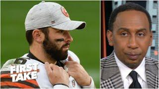 'I've given up' on Baker Mayfield, the Browns & Cleveland should give up - Stephen A.   First Take