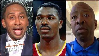 Could the Rockets have beaten Jordan's Bulls in 1995? Kenny Smith & Stephen A. debate | First Take