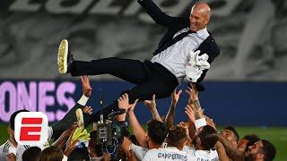 Real Madrid winning La Liga this season is very special for Zinedine Zidane - Laurens | ESPN FC