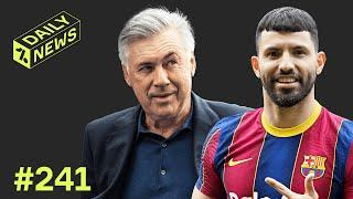 Who is Sergio Aguero's replacement at Man City? + Ancelotti RETURNS to Real Madrid!