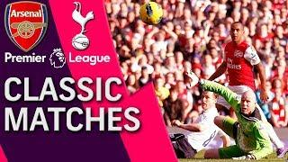 Arsenal v. Tottenham | PREMIER LEAGUE CLASSIC MATCH | 2/26/12 | NBC Sports